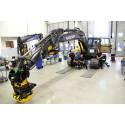 100:e maskinen från Swecons utrustningsverkstad i Eskilstuna
