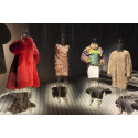 """Modern furs from special exhibition """"Fur - An Issue of Life and Death"""""""