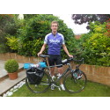 Young Bridgend graduate takes on solo cycling challenge of 1,100 miles for charity.