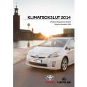 Klimatbokslut 2014 Toyota Sweden