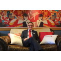 TAKE A SEAT - meet Virgin Trains East Coast Managing Director David Horne on the sofa at York station