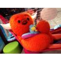 Uutta! Lastenkerhon Mino ja Polly-maskotit matkamessuille