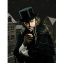 """Casper Crump som Albert Fetisen i Frilandsmuseets udgave af """"Et Juleeventyr"""""""
