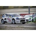 Andra raka segern för Johan Kristoffersson i rallycross-SM