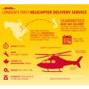 Londons første helikopter-kurertjeneste