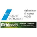 Elmässan i Kista – Välkomna till monter M:05!