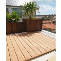 Forexia® Wood Composite Decking Project Reference - Telok Kurau Bungalow Roof Top Garden