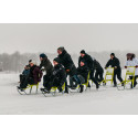 Full fart med Tyrénssparkarna på isen
