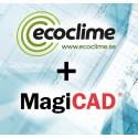 Ecoclime Comfort Ceilings ‐ nu med produktdatabas i MagiCad