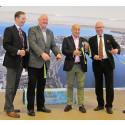 Jönköping Airport invigde nya flyglinjen – som går till Frankfurt på under två timmar