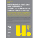 Press invitation: Opening of Ung Svensk Form/Young Swedish Design