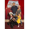 Hanna Graaf Karyd på röda mattan - premiärmingel Disney Live!