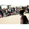 Skratt ska få barn på flykt från Syrien trygga i skolan