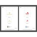 54st Receptionsskyltar till Trivselhus och MoveHome i exklusivt utförande efter logotypbyte