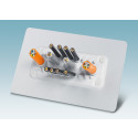 Kabelgennemføringssystem til hurtig montage af ikke-konfektionerede kabler