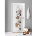Elfa Utility Door and Wall rack i vaskerummet
