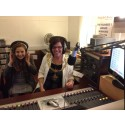 Mayor's visit makes radio waves