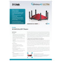 Produktblad, D-Link AC3200 Ultra Wi-Fi Router (DIR-890L)