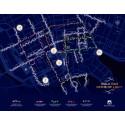 Ljuspromenaden - karta