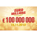 900 miljoner kr i superdragningen av Euromillions!