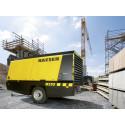 Miljövänlig byggkompressor redan i dag med Kaeser på MaskinExpo