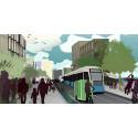 Attraktivare städer genom smartare transporter