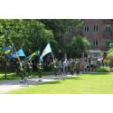 Veteranmarschen invigs i Halmstad 11 juli