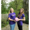 ​Preston netball players help to Make May Purple for stroke