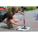 Natur- och teknikläger för tjejer