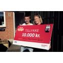 Vallensbæk-familie vinder ét års elforbrug fra DONG Energy