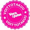 VOITTOTAKUU: Vera&John takaa €5,000 voittajan joka päivä