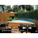 Accoya® Wood Project References: Pool Decking @ Best Western Hotel, Thailand