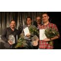 Första pristagarna av LLB Awards