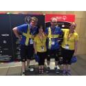 Svenska bowlinglaget vinner guld, silver och brons i Special Olympics World Summer Games