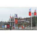 OKQ8 inviger nybyggd automatstation i Borås