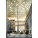 Artist Impression of The National Gallery Singapore - Atrium