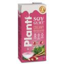 Favoriterna från Carlshamn Mejeri har fått ny kostym:   Nya mjölkfria Planti firar premiär med vårfräsch rabarber-Soygurt