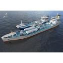 Den første LNG skip-til-skip bunkringskontrakten