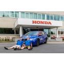 Honda saavutti upean uuden GUINNESS WORLD RECORDS -ennätyksen