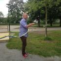 Nytt tillgänglighetsanpassat utegym invigdes på Södermalm