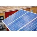 Premiär för lokalproducerad el i större skala