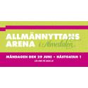 SABO i Almedalen: Allmännyttans Arena 29 juni
