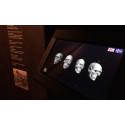 """Zenton i samarbete med Trelleborgs museum i utställningen """"Öga mot öga"""" - upplevelsedesign, museiteknik, interaktivitet, ljus och ljud."""