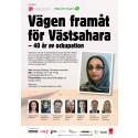 Mitt i IKEA-gate: Välkomna till riksdagsseminariet Vägen framåt för Västsahara - 40 år av ockupation.