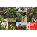 Astetta korkeammalle, astetta helpommin – Uudet jatkovarrelliset Ryobi® puutarhakoneet