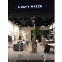 BeX-kund A Day's March öppnar i Mall of Scandinavia