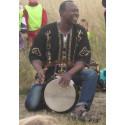 Öppna förskolan Måsen firar Dansens dag med rytmer från Afrika