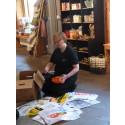 50-åriga plastpåsar tas upp i museets samlingar
