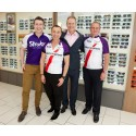 Not a sequin in sight - visionary designer Julien Macdonald gears up for bike ride in aid of Stroke Association
