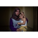 Jemen, 5 år är traumatiserad
